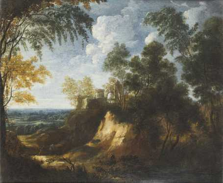 Continental School Landscape Painting