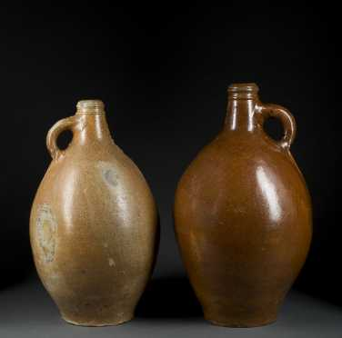 Two Bellarmine Stoneware Jugs