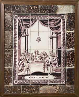 """Christ's Last Supper"" Tile Picture"