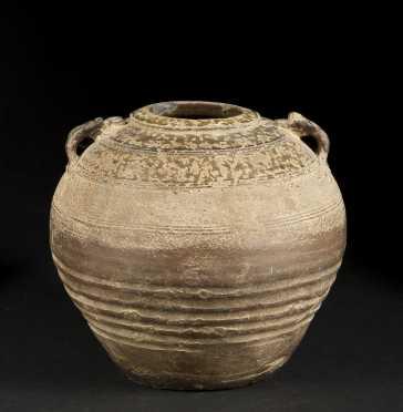 Han Dynasty Stoneware Jar
