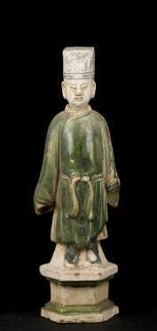Han Dynasty Nodding Tomb Figure