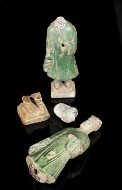 Two Han Dynasty Tomb figures