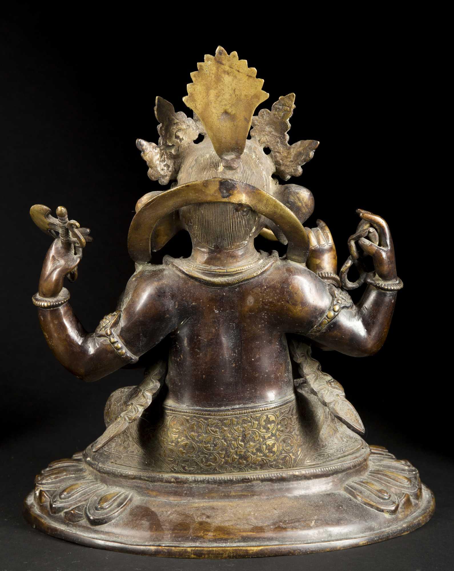Bronze Quot Ganeslia Quot Hindu Elephant God