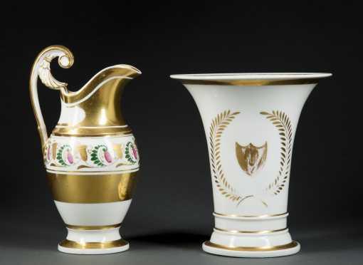 Two Pieces of Paris Porcelain