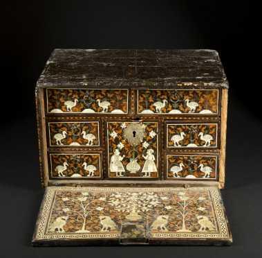 17thC Indo-Portuguese Table Cabinet/Desk