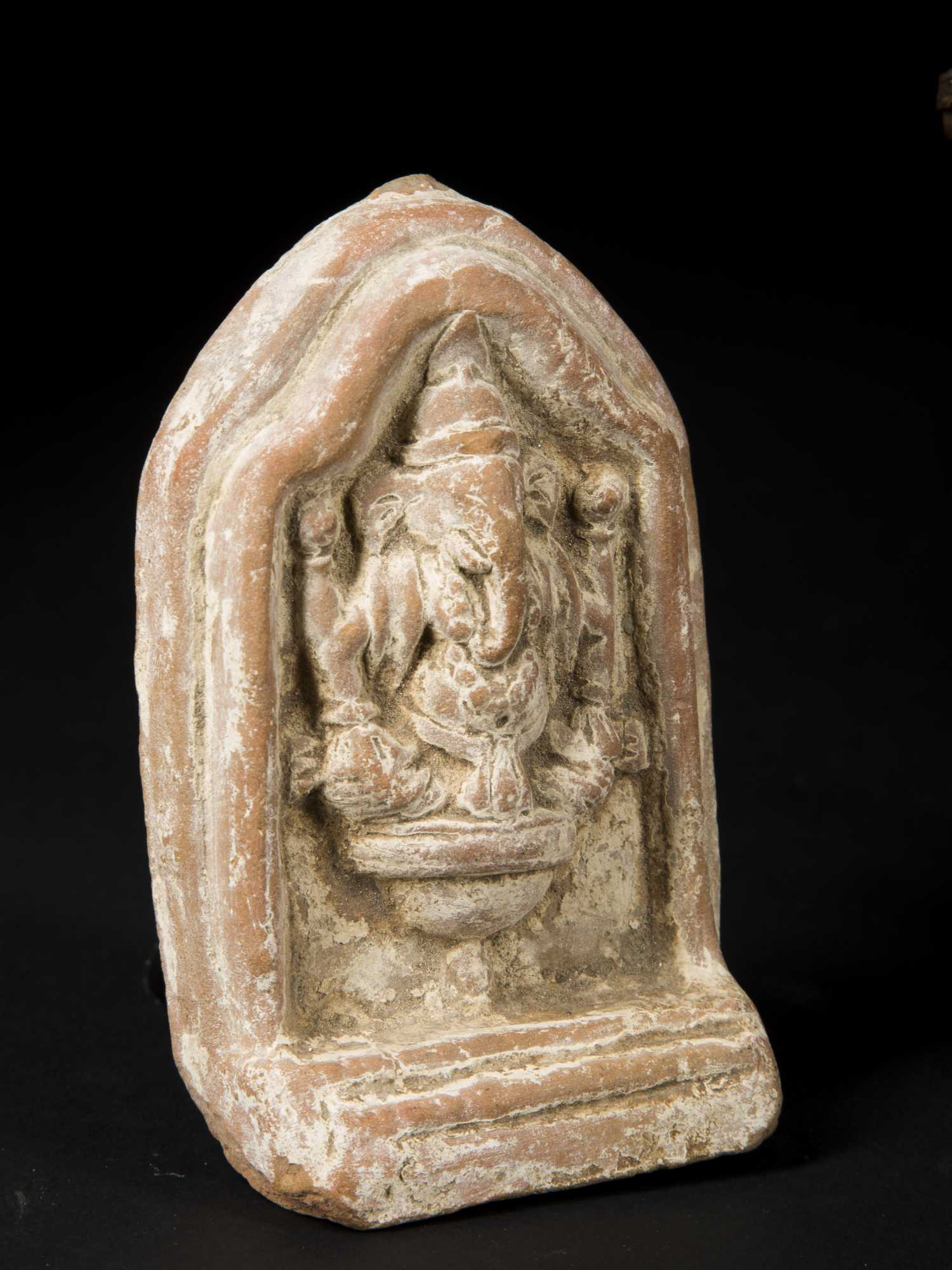 three indian artifacts