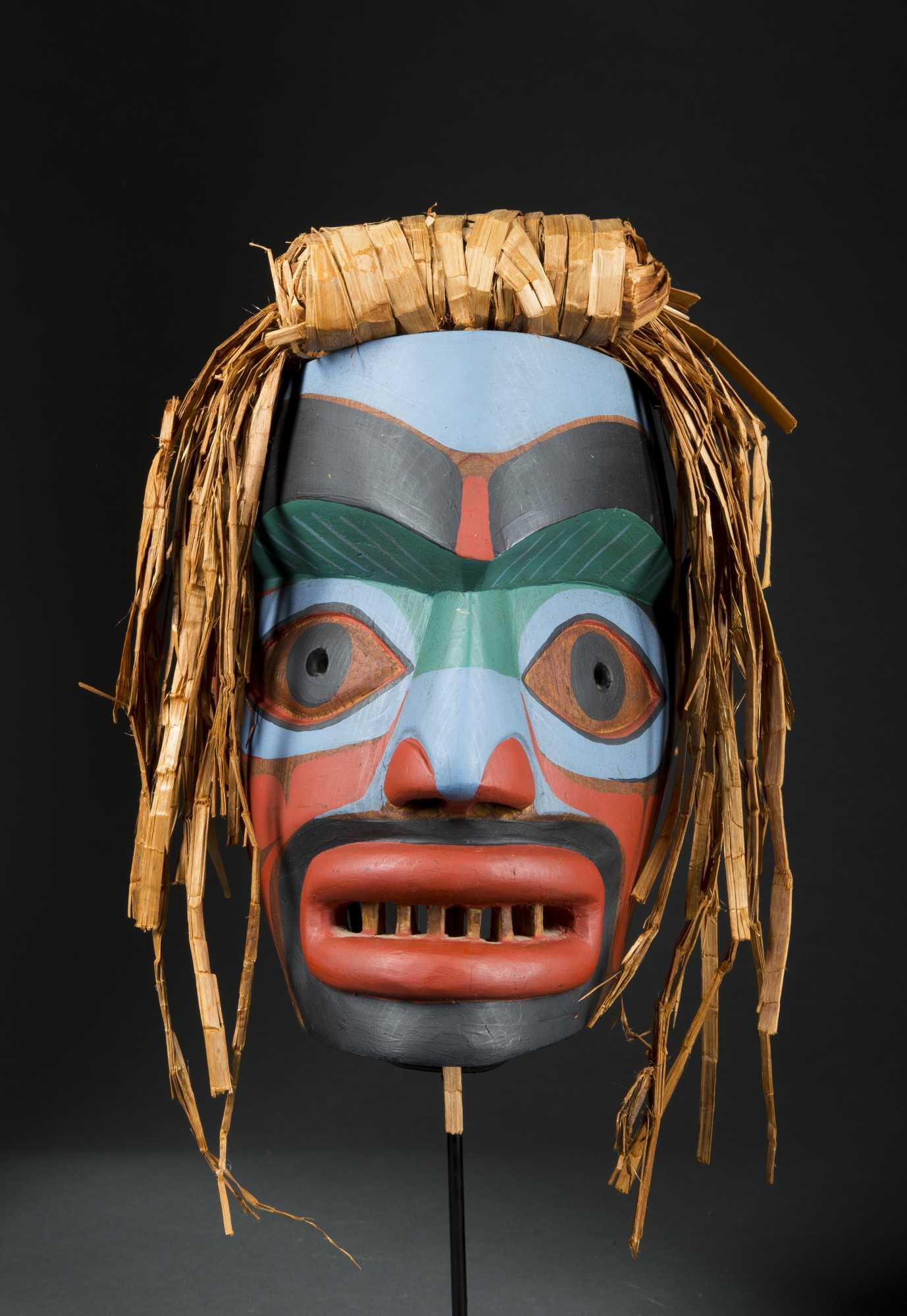 North West Coast Dance Mask By Yana S Neshew