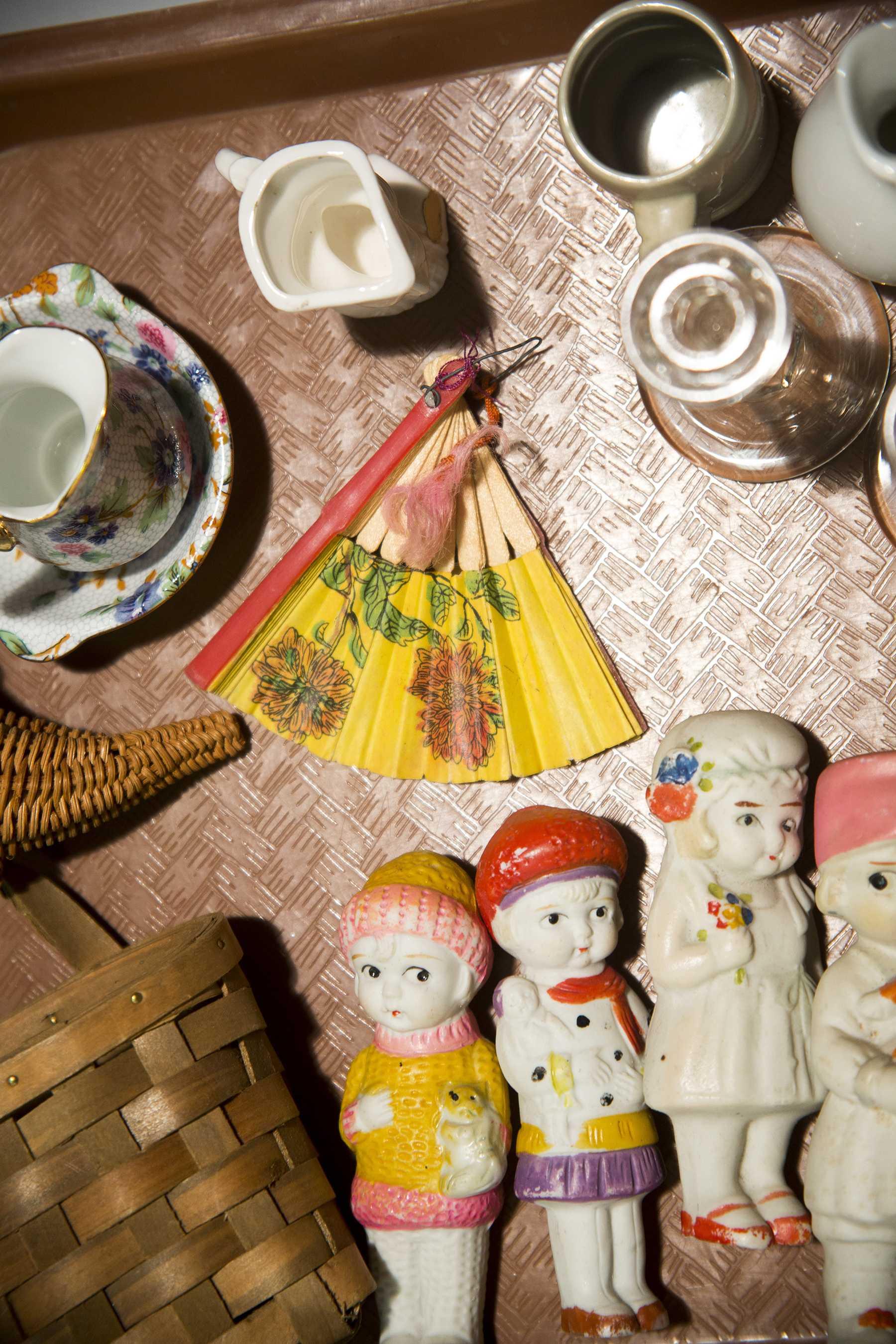 50 Piece China Doll House Lot