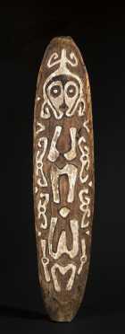 A Papuan Gulf spirit board