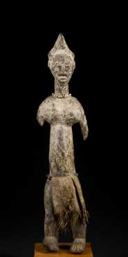 A fine Baule male figure