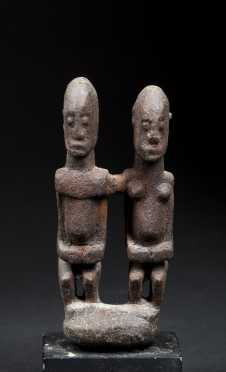 A Fine Dogon Miniature primordial couple