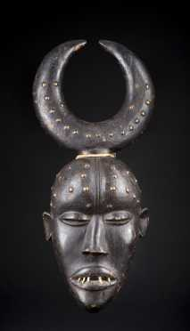 A Fine and Rare Grebo Kwi Iru mask