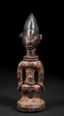 A fine Ibeji figure