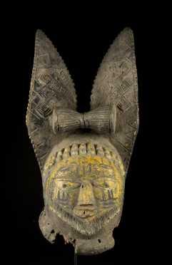 A Fine and old Yoruba Egungun mask, Esubiyi workshop