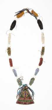 A Yoruba beaded diviner's sash