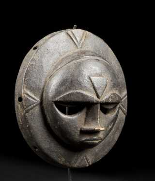A fine and rare Eket dance mask