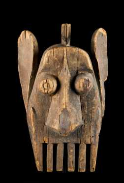 A fine and Rare Ijo mask--Ex. Anspach
