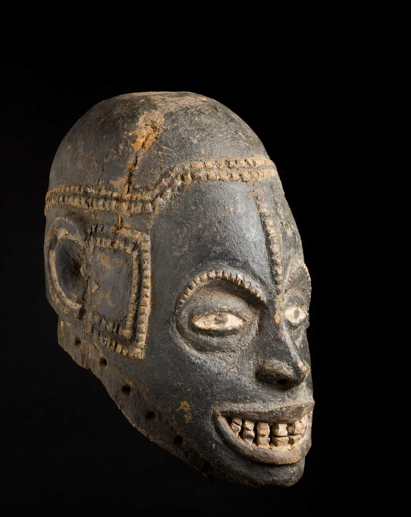 A Fine Cross River Dance Mask