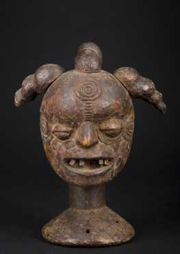A fine old Boki dance crest