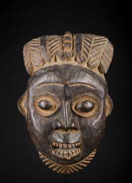 A Fine and very early Cameroon Grasslands mask