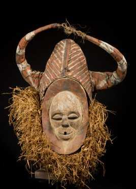 A fine Yaka Nkanu Kisokolo Mask
