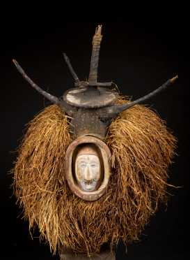 A fine Northern Yaka initiation mask