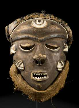 A fine Pende initiation mask