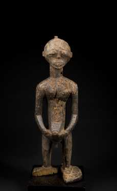 A heavily eroded old Hemba Ancestor figure