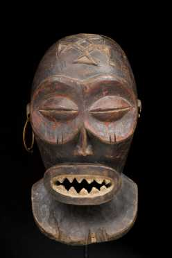 An exceptional Chokwe Male Mask