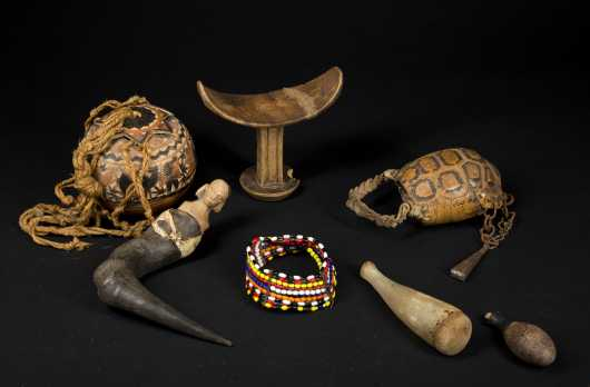 Another Group of East African objects