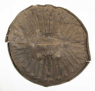 A fine and old Oromo shield