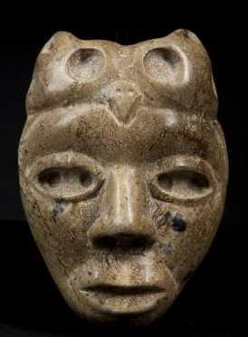 A Fine and lovely Teotihuacan Human/Owl Maskette