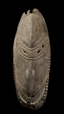 A Lower Sepik dance mask