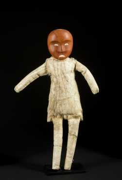 A fine and rare Inuit Mortuary doll