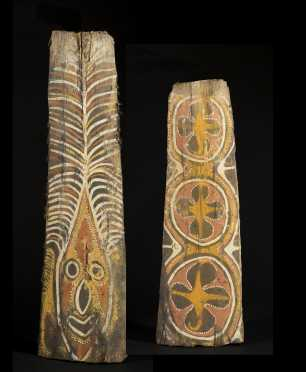 Two Kwoma Washkuk Palm panels