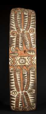 A fine and rare Upper Sepik shield