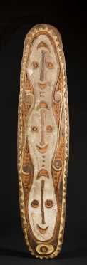 An Upper Sepik War Shield, Wogamus