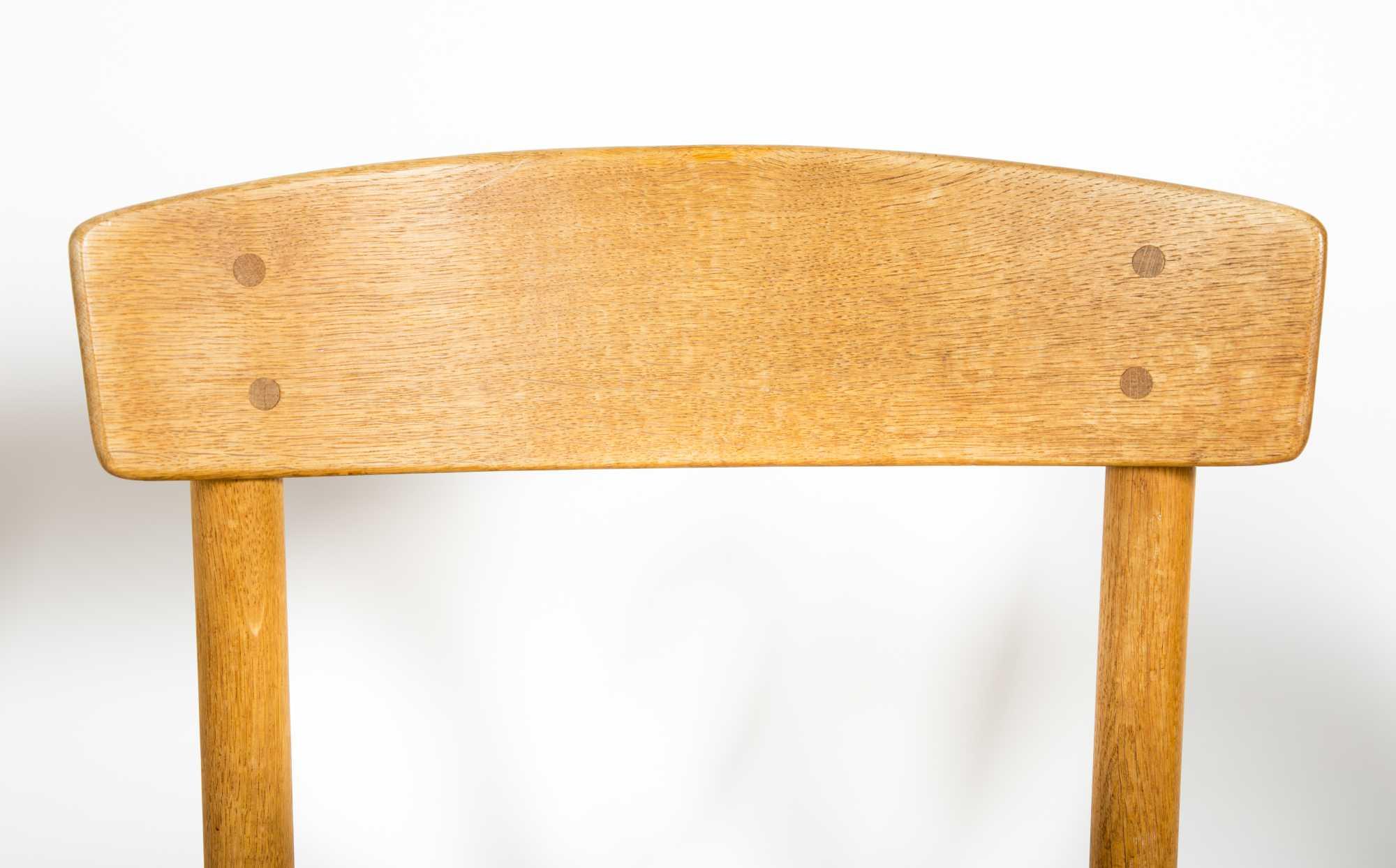 Sensational Danish Modern Reverse Top Game Table And Four Chairs Creativecarmelina Interior Chair Design Creativecarmelinacom