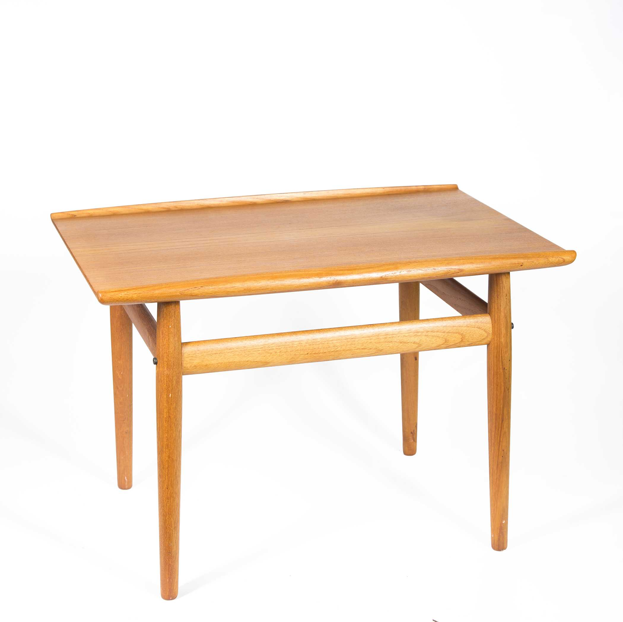 Two Danish Modern Teak Wood Coffee Tables