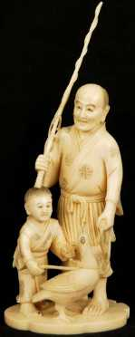 Japanese Ivory Carving