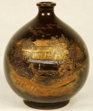 Japanese Satsuma Bud Vase