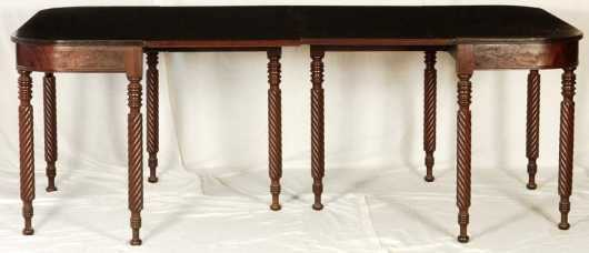 Mahogany Two Part Banquet Table