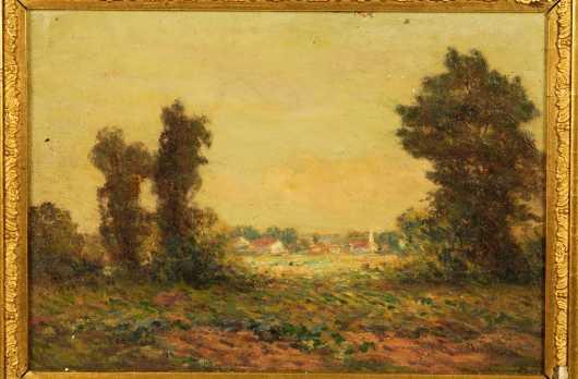 19th Century Impressionistic Landscape