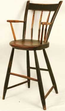 Thumb-back Windsor Hi-Chair