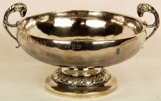 Coin Silver Bowl