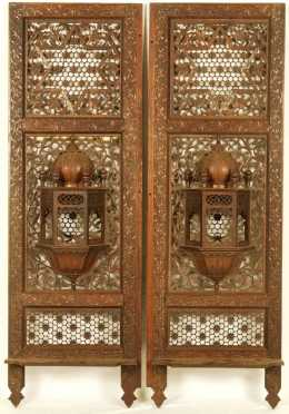 Pair of Middle Eastern Wall Panels