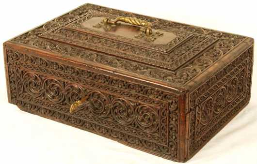 Indian Export Valuables Box