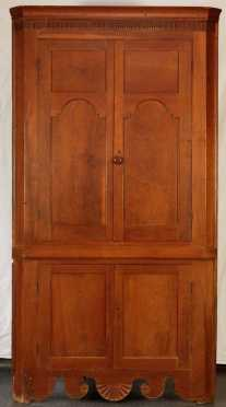 Southern Cherry Corner Cupboard