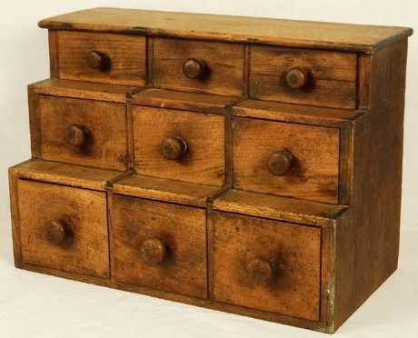 18th Century Tiered Storage Chest