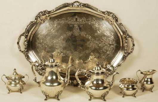 Gorham Sterling Tea/Coffee Service